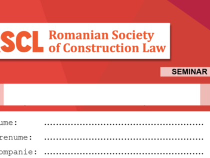 Dezbatere teme Conferința Anuală European Society of Construction Law